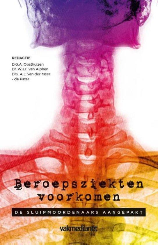Boek cover Beroepsziekten voorkomen van  (Paperback)