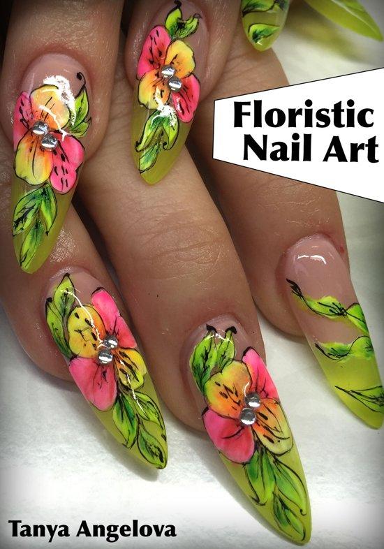 Bol Floristic Nail Art How To Create Floristic Art Gel
