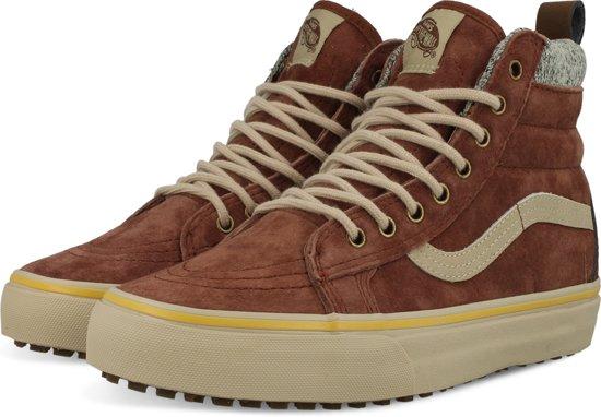 vans sneakers hog bruin