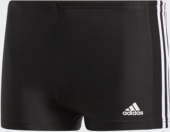 573d712b58f4a8 bol.com | adidas Fitness Boxer 3 Stripes Zwembroek Heren - Black/Core