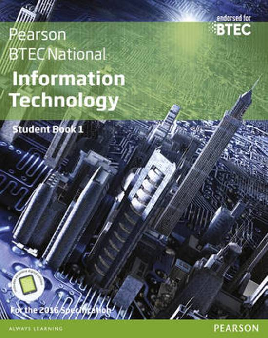 BTEC Nationals Information Technology Student Book   Activebook
