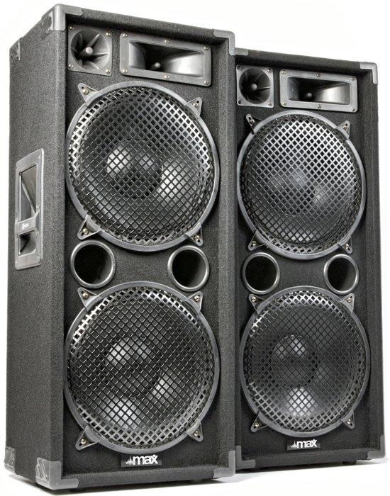 "SkyTec MAX212 disco speakerset 2x 12"" 2800W"
