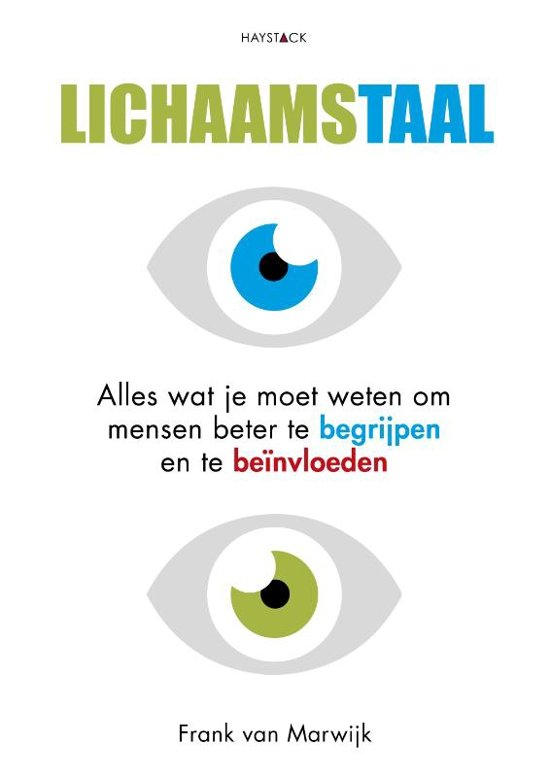 Boek cover Lichaamstaal van Frank van Marwijk (Paperback)