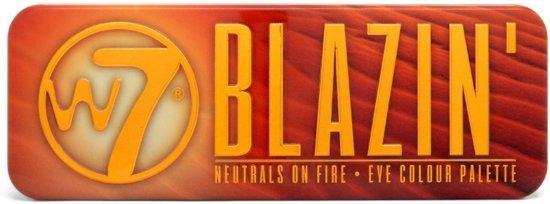 W7 Blazin' Neutrals On Fire Oogschaduwpalette