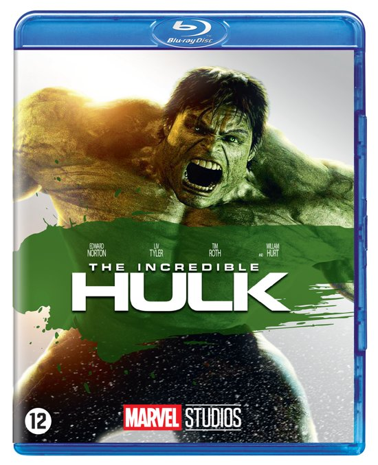 DVD cover van The Incredible Hulk (08) (Blu-ray)