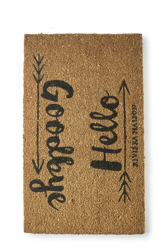 Riviera Maison - Doormat Good to be Home - Deurmat - Naturel