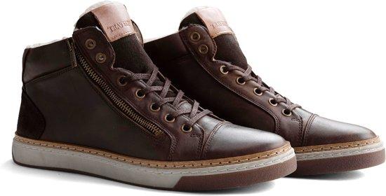 Travelin Chaussures Marron Casual Pour Les Hommes Occasionnels D'hiver 7Oga5