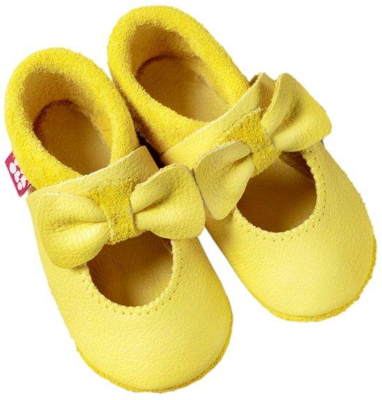 Pololo babyslofjes Ballerina lemon