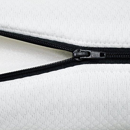 Matras - 120x190 - 7 zones - koudschuim - premium plus tijk - 15 cm