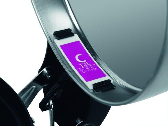 PerfectFit afvalzak met trekbandsluiting code C, 10-12 liter, 40 stuks/dispenser pack