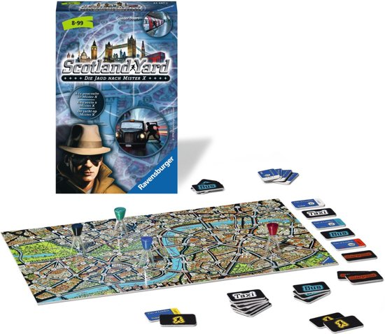 Ravensburger Scotland Yard - pocketspel