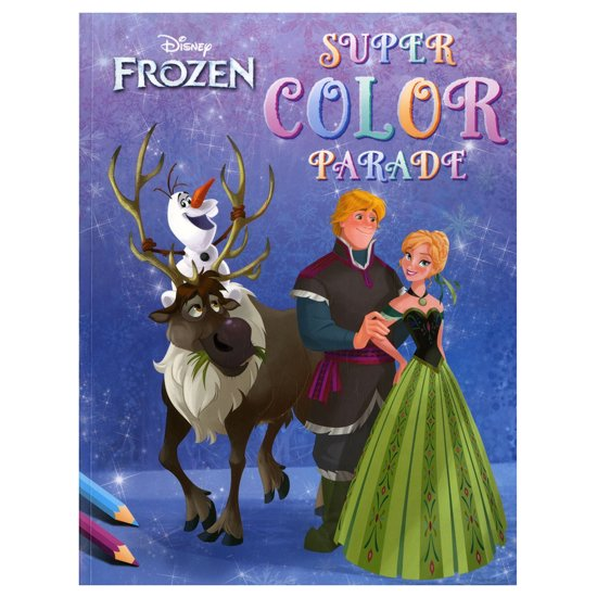 Disney Super Color Parade Frozen