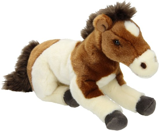 3bc9cfd0f8a4be bol.com | Nicotoy Pinto Paard - Knuffel -28 cm, Simba-Dickie | Speelgoed