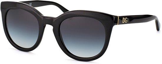 a843429f18f Dolce   Gabbana DG4249 501 8G - Zonnebril - Zwart  Grijs