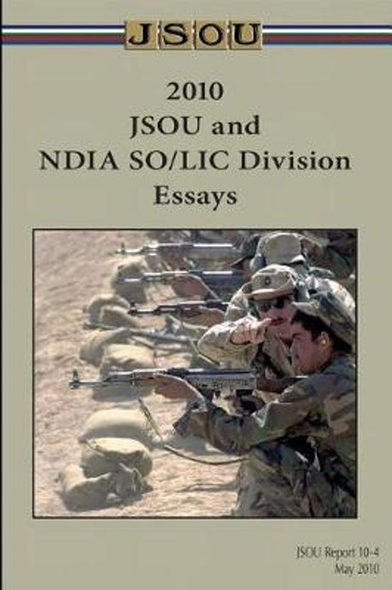 JSOU and NDIA SO/LIC Division Essays