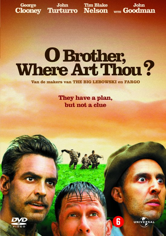 DVD cover van OBrother, Where Art Thou? (D)