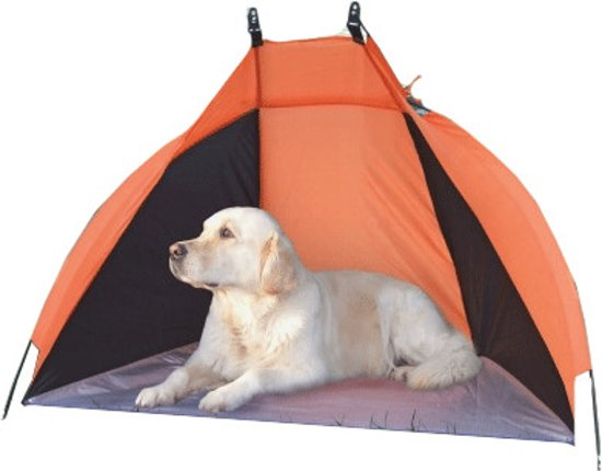 Kerbl Honden Strandtent windscherm, zonnescherm 130 cm