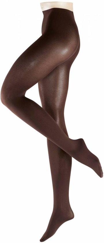 FALKE Sensual Cotton 80 denier Panty 40089 - Volwassenen - S - Bruin