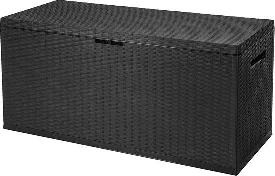 Opbergbox Kussens Tuin : Bol.com maxx kussenbox opbergbox voor kussen rotan 350l