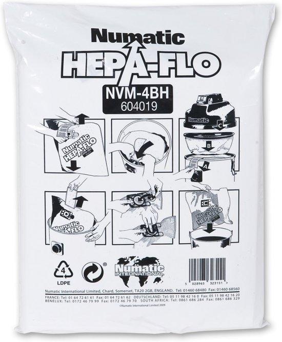 Numatic stofzuigerzak NVM-4BH hepaflow