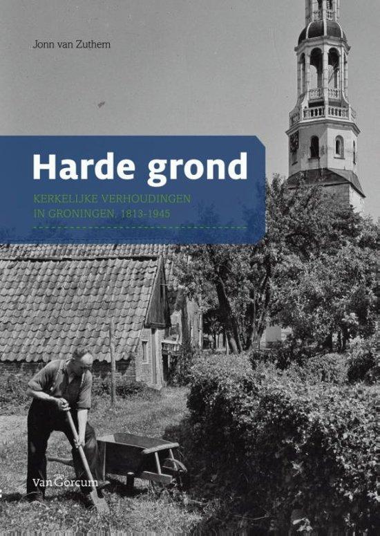 Cover van het boek 'Harde grond' van Jonn van Zuthem