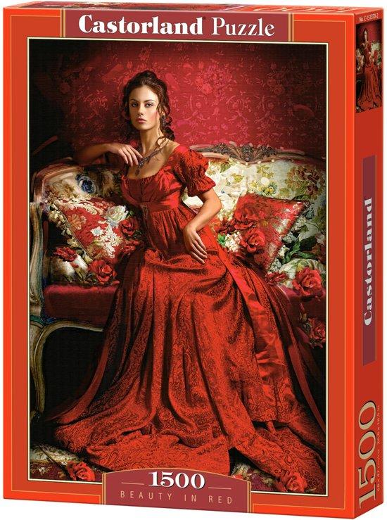 Beauty in red (1500 stukjes)