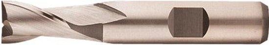 Langgatfrees Type N, inzetbaar voor het frezen van spiegleuven HSS-E DIN327-D 3,80mm