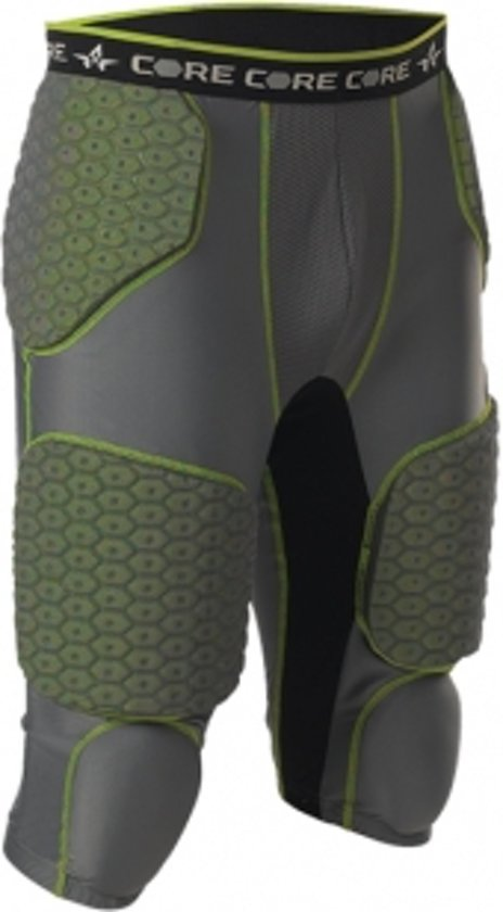 Alleson Adult Football 7 Padded Integrated Girdle - Chli - S
