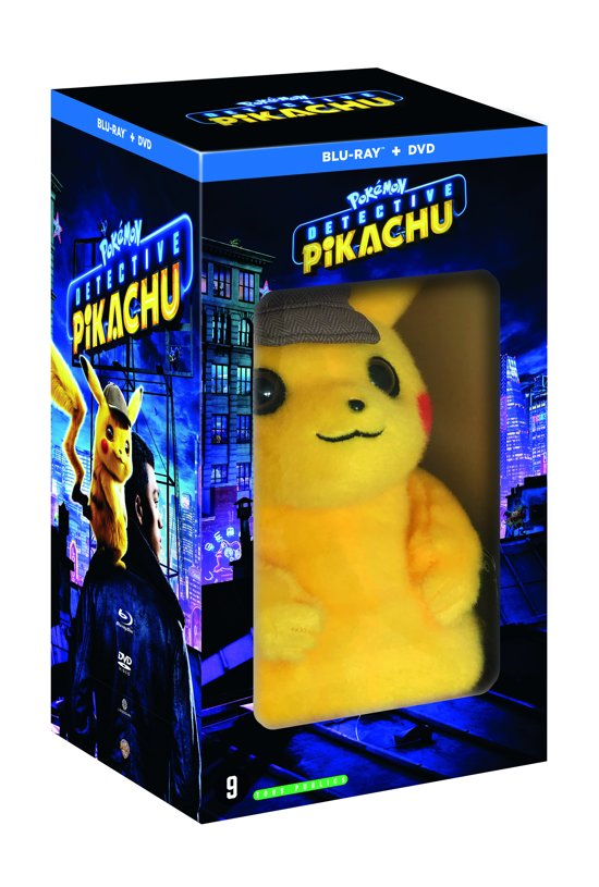DVD cover van Pokémon Detective Pikachu (Dvd + Blu-ray) (Limited Edition incl. knuffel)