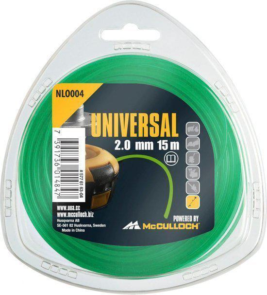 McCULLOCH NLO 004 Nylon draad 2.0mm x 15m - rond