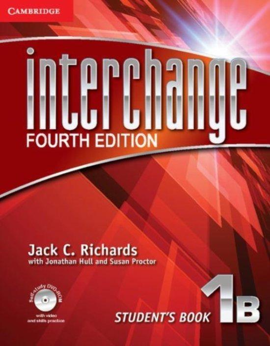 Interchange 1Bstudent's book + self-study dvd-rom