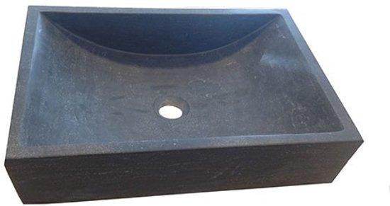 Wastafel Opbouw Rechthoek : Bol waskom natuursteen rechthoek