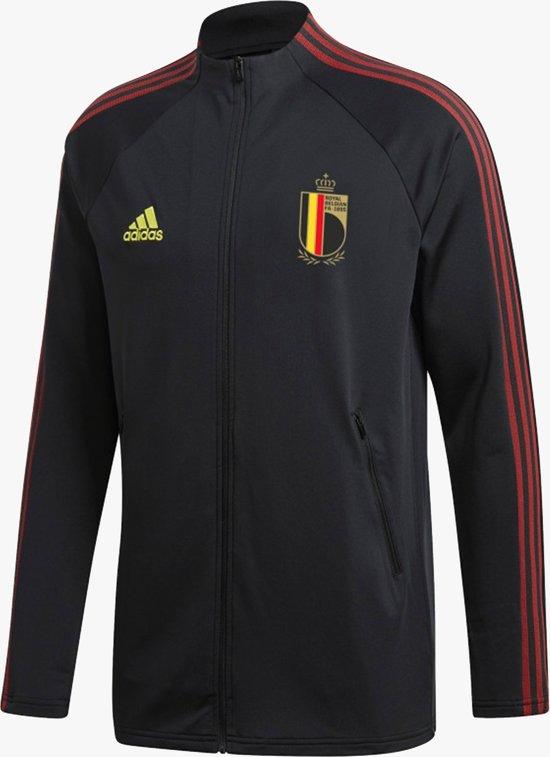 adidas Belgie Anthem Jacket EK2020 Heren Zwart Maat L