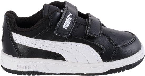 73306d666a6 bol.com | Puma Rebound V2 Lo - Sneakers - Unisex - Maat 21 - Zwart/Wit