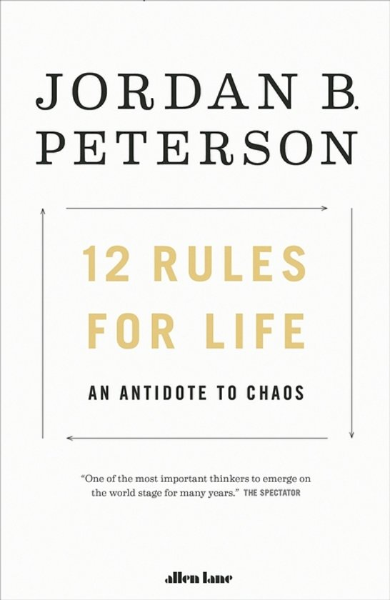 Boek cover 12 Rules For Life van Jordan Peterson (Paperback)