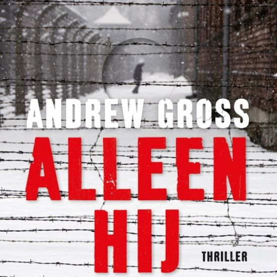 Boek cover Alleen hij van Andrew Gross (Onbekend)