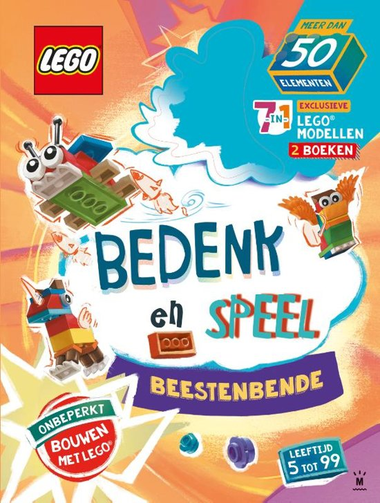 9200000113373725 - Bedenk, speel en leer met deze LEGO doeboeken & WIN