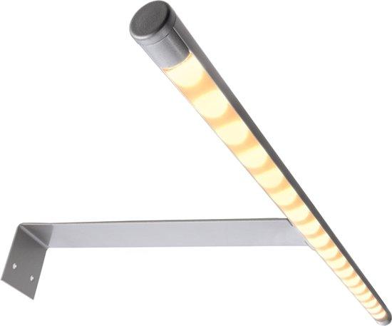 bol com  Zoomoi Lucy I Badkamer Spiegellamp  LED  Chroom~ Afmeting Badkamer Spiegel