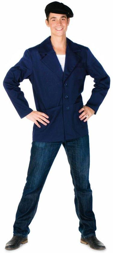 Keeper jas blauw mt.XL-XXL