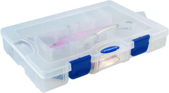 Predox T&G Tainer - Tacklebox - 27 x 18 x 4.5 cm - Transparant