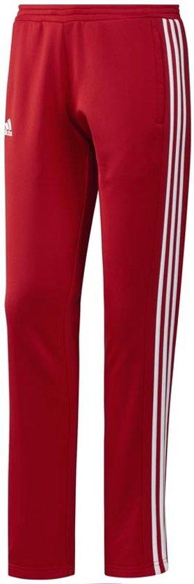 adidas T16 'Offcourt' Sweat Pant Dames - Broeken - rood - L