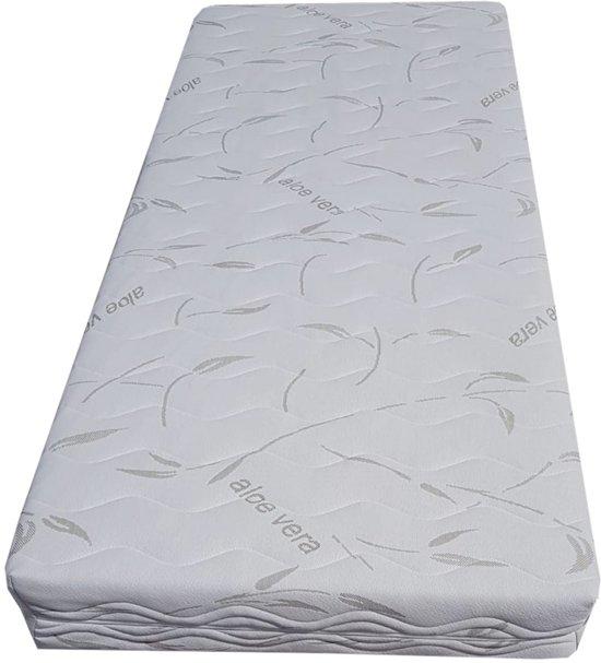 Pocketvering matras 300 NASA ALOE VERA TIJK 21 cm 70 x 200