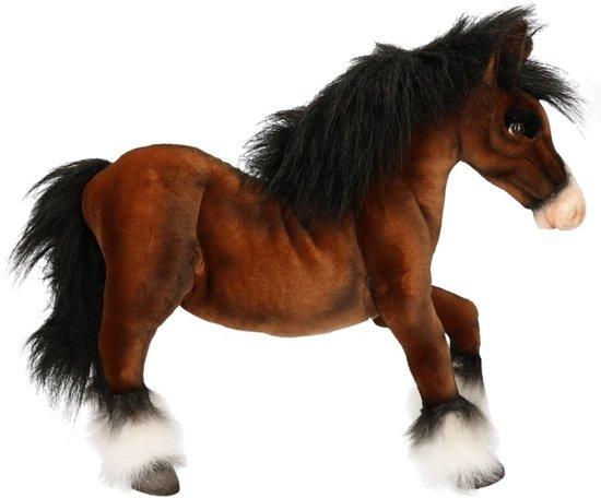 88c3688c8f0759 bol.com | Hansa pluche paard knuffel 50 cm, Hansa | Speelgoed