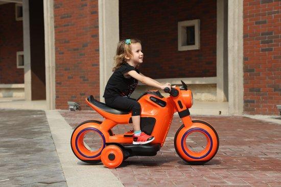 Elektrische Kindermotor - Accu 6V - Wit