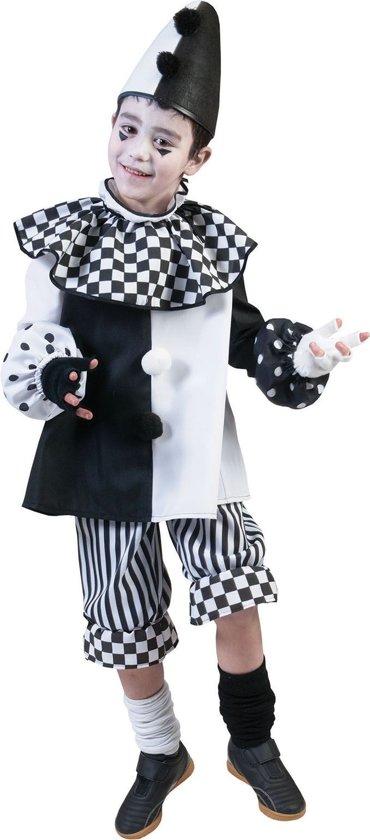 Carnaval Kostuum Kind.Pierrot Kostuum Clown Classico Kind Kostuum Maat 164 Carnaval Kostuum Verkleedkleding