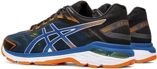 Asics GT 2000 7 hardloopschoenen heren zwartblauw