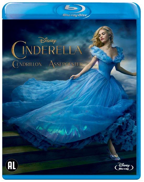 DVD cover van Cinderella (Inclusief Frozen Fever) (Blu-ray)