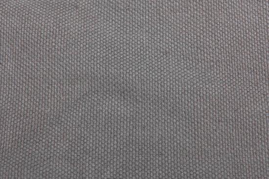 ECOMUNDY Romance L 340 - Luxe hangmat met franje - antraciet  - handgeweven biologisch katoen (GOTS) - 130x200x340cm - Max 150kg