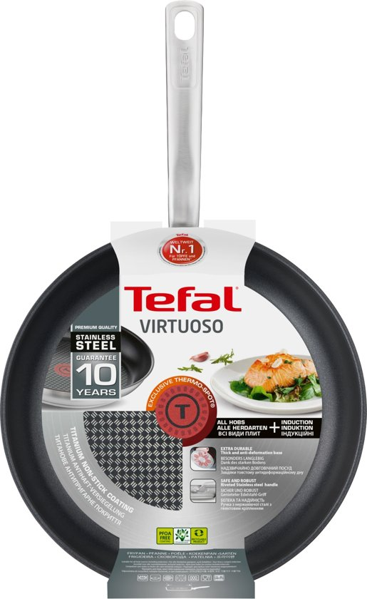 Tefal Virtuoso Koekenpan 24 cm