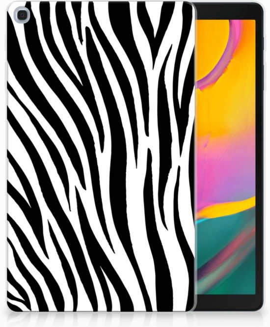 Hoesje Samsung Tab A 10.1 (2019) Design Zebra